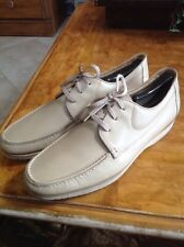 E.T. Wright Temple Men US 12D Nude Oxford Made In Italy