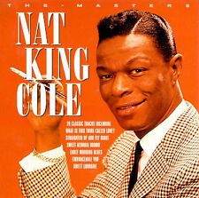 The Masters by Nat King Cole [20 Track Audio CD] Brand New