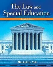 The Law & Special Education by Mitchell L. Yell, 4th Edition (Loose Leaf)