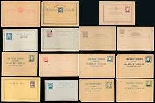 PORTUGAL AZORES + CAPE VERDE POSTAL STATIONERY...MINT...15 ITEMS
