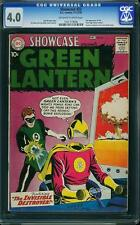 Showcase #23 CGC 4.0 DC 1959 2nd Green Lantern! Justice League! F2 106 1 21 cm
