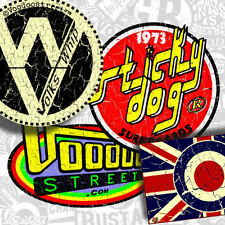 SURF HOT ROD  STICKER PACK BY VOODOO STREET™