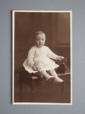 R&L Postcard: Circa 1920s Fashion Clothes, Portrait of Baby & Toy Train
