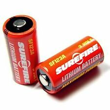 New Genuine SUREFIRE SF123A Batteries x10 Lithium 3 Volt UK seller
