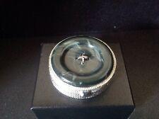 Estee Lauder Aliage Blue Button Box Compact for Solid Perfume 1977 empty