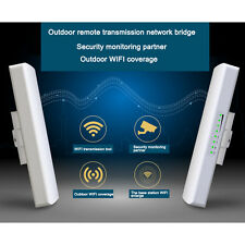 Outdoor High Power AP WiFi Bridge Wireless Access Point  Router Network POE CPE