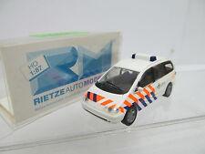 eso-13920 Rietze 1:87 PKW Politie mit minimale Gebrauchsspuren,winzige Kratzer