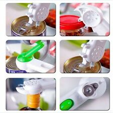 7 in 1 Safe Touch Kitchen Can Opener Bottle Jar Slicker Kitchen Cook Easy Tool