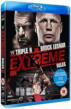 WWE Extreme Rules 2013 Blu-ray RC2 Region 2 / B DEUTSCH NEU Triple H Lesnar