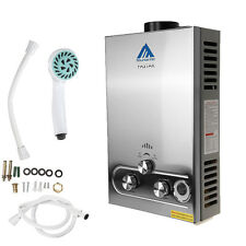 12L 3.2GPM NEW LPG GAS TANKLESS INSTANT HOT WATER HEATER STAINLESS PROPANE