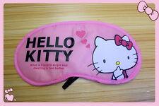HelloKitty Soft Sleep Aid Mask Eye Shade Blindfold Cover  AA-D101