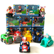 Cute 8pcs Paw Patrol Action Figures Doll Racer Kids Baby Boy Girl Toy Xmas Gift