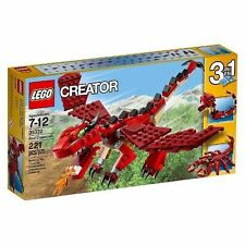 31032 RED CREATURES lego creator NEW sealed 3 in 1 legos set dragon snake