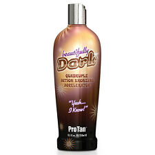 Pro Tan Beautifully Dark Quadruple Bronzing Accelerator Tanning Lotion - 250ml