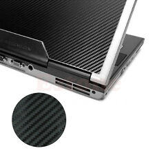 "Carbon Fibre 3D Skin Cover Decal Wrap Sticker Case For 17"" Laptop Notebook PC"