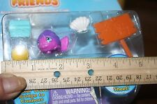 3a- TOY MINI FISH WITH ACCESSORIES NEW IN BOX. FREE SHIPPING 2 included