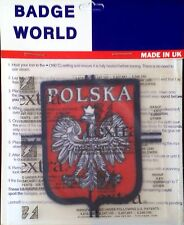 Poland - Polska National Football Team OFFICIAL LEXTRA Soccer Badge Patch