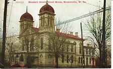 Early 1900's Marshall County Court House in Moundsville, WV West Virginia PC