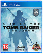 PS4  Rise of the Tomb Raider - 20 Year Celebration  Playstation 4