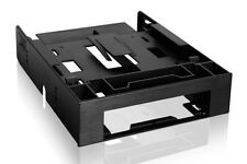 """New ICY Dock FLEX-FIT Trio MB343SP 2.5"""" 3.5"""" to 5.25"""" Front Bay Conversion"""