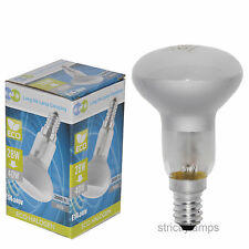 R50 Reflector Halogen Energy Saving Light Bulb 40W Dimmable E14 Edison Pack Of 5