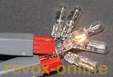 1 Satz, 6 Lampen,  6 Lämpchen, 24V 30mA, Studer Revox A76 MKII Tuner, NEUWARE