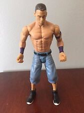 "JOHN CENA BODY SLAMMIN WWE FLEXFORCE ACTION FIGURE  7"" Used Loose Mattel Wrestle"
