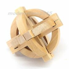 10pcs Tellurion Wooden Lock Brain Teaser Puzzle toys IQ Test Education toy Gift