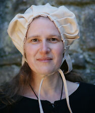 Medieval/LARP/Re enactment/VIKING Ladies Bonnet-Coif-Head covering-Head dress