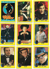 1990 Topps DICK TRACY Complete 88 Card & 11 Sticker Set Madonna BEATTY Pacino +
