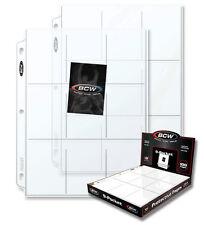 20 BCW 9 Pocket Binder Pages