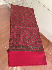Foulard scarf sciarpa di Renato Balestra silk seta e lana wool