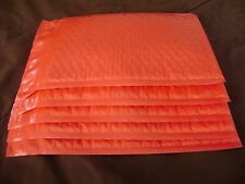 25 Red 4 x 8 Color Bubble Mailer Self Seal Envelope Padded Mailer