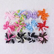 "Lot girl baby  present 3"" boutique Hair Bows Grosgrain ribbon 2795-1-12pc-S"