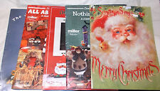 Tole Painting wood crafts leaflet pattern lot soft cover books Christmas holiday
