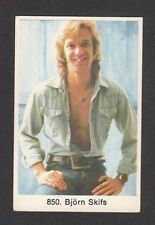 Bjorn Skifs Vintage 1970s Pop Music Collector Card Look! from Sweden