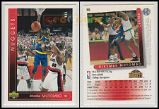 NBA UPPER DECK 1993/94 - Dikembe Mutombo # 55 - Nuggets - Ita/Eng - MINT