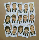 NEWCASTLE UNITED LEGENDS ILLUSTRATED COLLECTABLE CARD SET