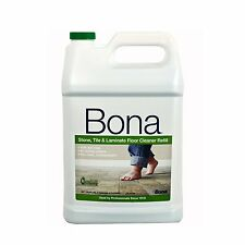 Bona Stone Tile and Laminate Floor Cleaner Refill, 128-Ounce , New, Free Shippin