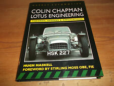Book. Colin Chapman. Lotus Engineering. Theories, Designs & Applications. 1st.