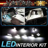 9pcs White LED lights interior package kit for 2005-2006 Jeep Grand Cherokee /91