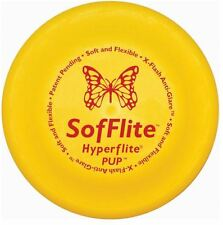 "Hyperflite Sofflite Soft Dog Frisbee Disc 7"" for Puppies Small Breeds Senior Dog"