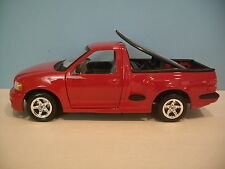 1:21 Scale Maisto RED FORD SVT F-150 LIGHTNING - SURFBOARDS Diecast Collectible