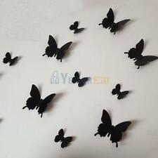 12PCS Butterfly 3D Wall Stickers Mural Removable Art Decor Home Kids Room Decor
