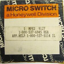 HONEYWELL MICROSWITCH Thru Scan Emitting Head MPE2 9127