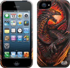 Spiral Direct DRAGON FURNACE Apple iPhone 5/5S Mobile Phone Case/Cover, biker
