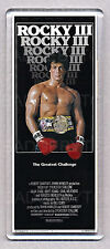 ROCKY III (3) movie poster LARGE 'wide' FRIDGE MAGNET - STALLONE!