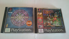 PACK:WHO WANTS TO BE A MILLIONAIRE Y VEGAS CASINO PLAYSTATION 1 PS1 PSX.PAL UK