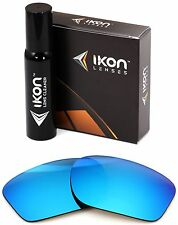 Polarized IKON Iridium Replacement Lenses For Oakley Scalpel Ice Blue Mirror
