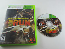 Need for Speed: The Run Limited Edition - Xbox 360 . Game Disc, Case & Artwork